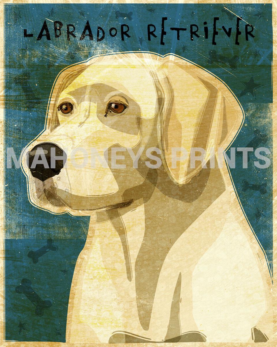 Labrador Retriever New Mahoneys Prints Online