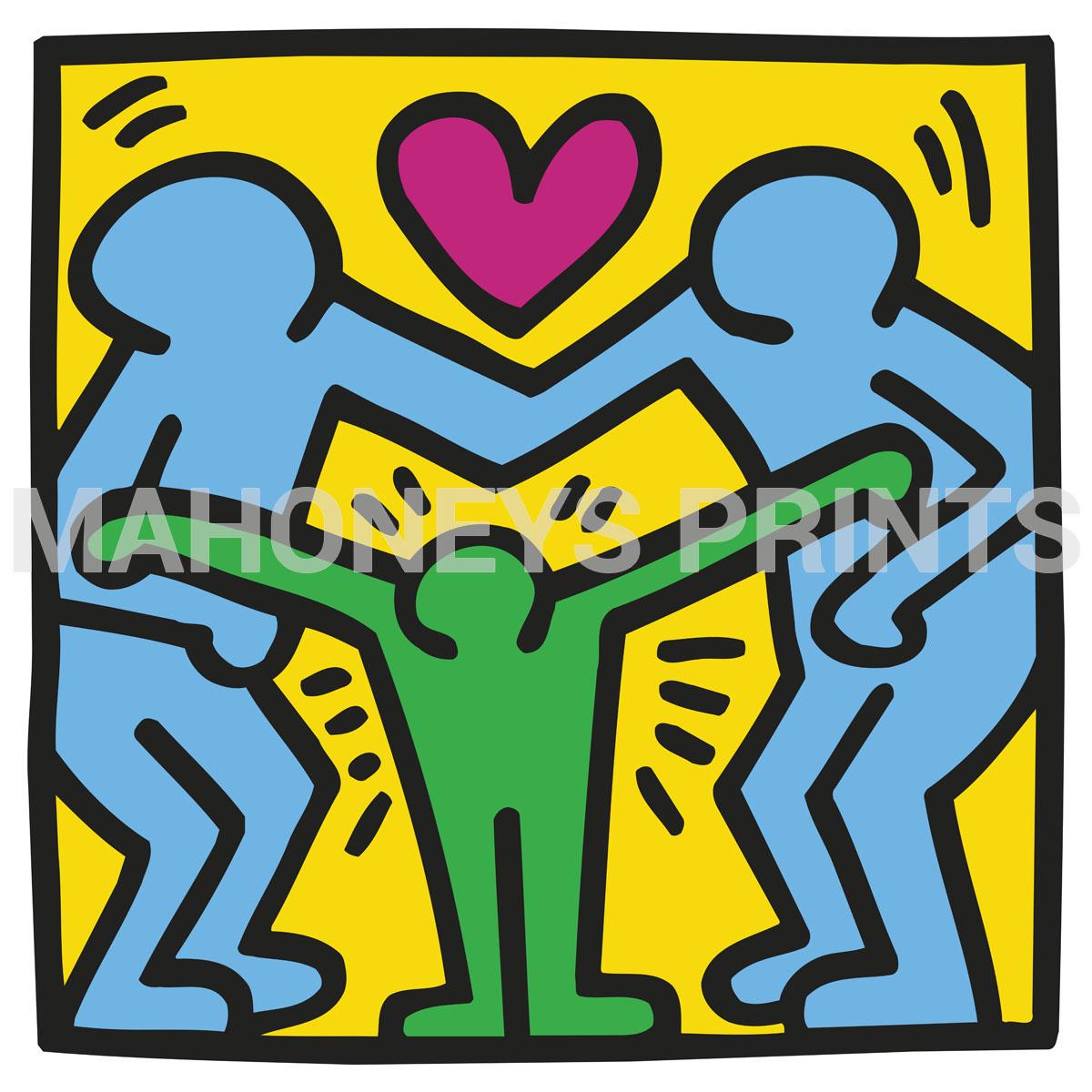 Print name: KH11 Artist: Keith Haring   Mahoneys Prints Online