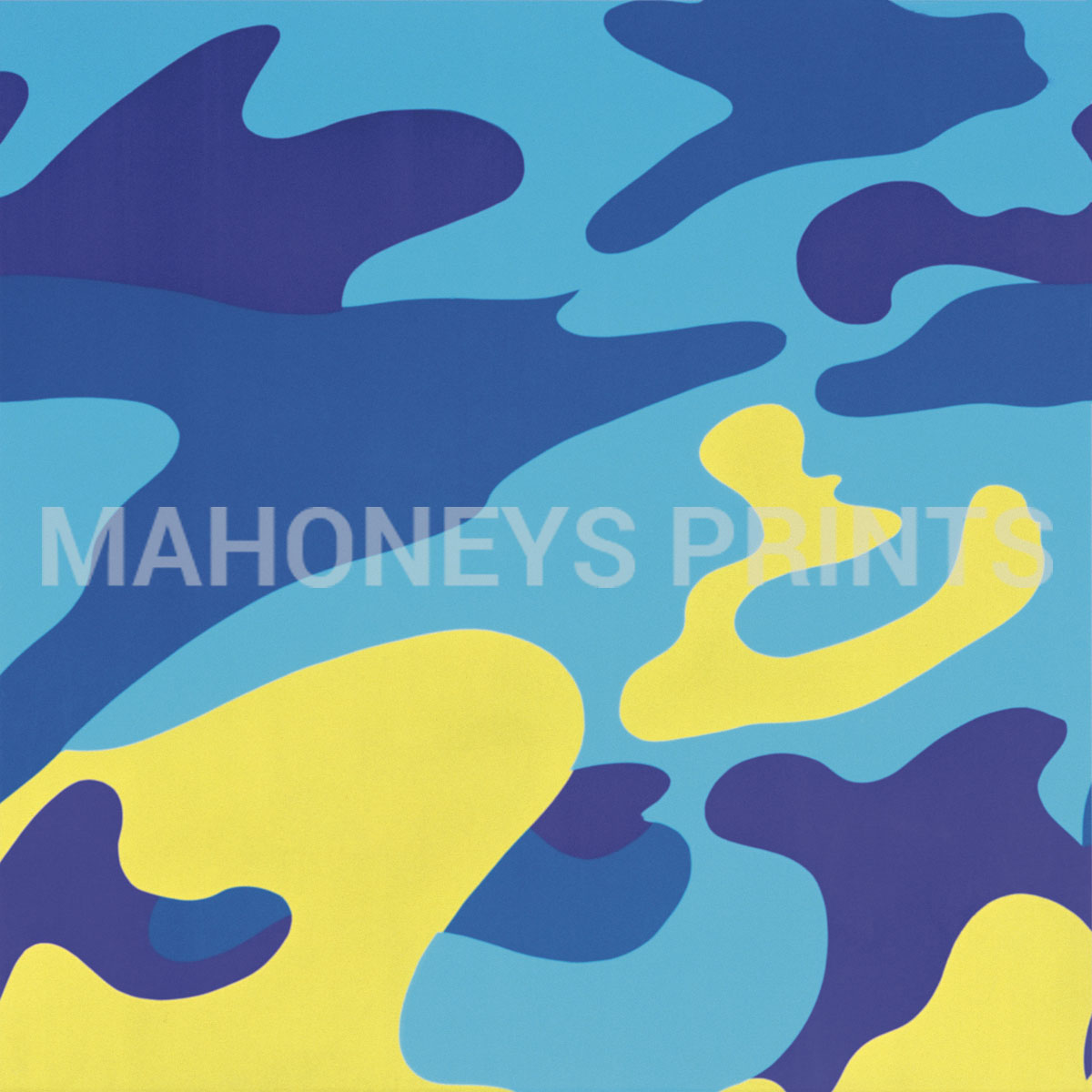 Camouflage, 1987 (blue, Yellow)